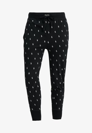 PRINTED LIQUID  - Pyjama bottoms - black/nevis