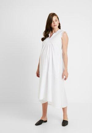 ROUCHES COLLO - Denní šaty - white