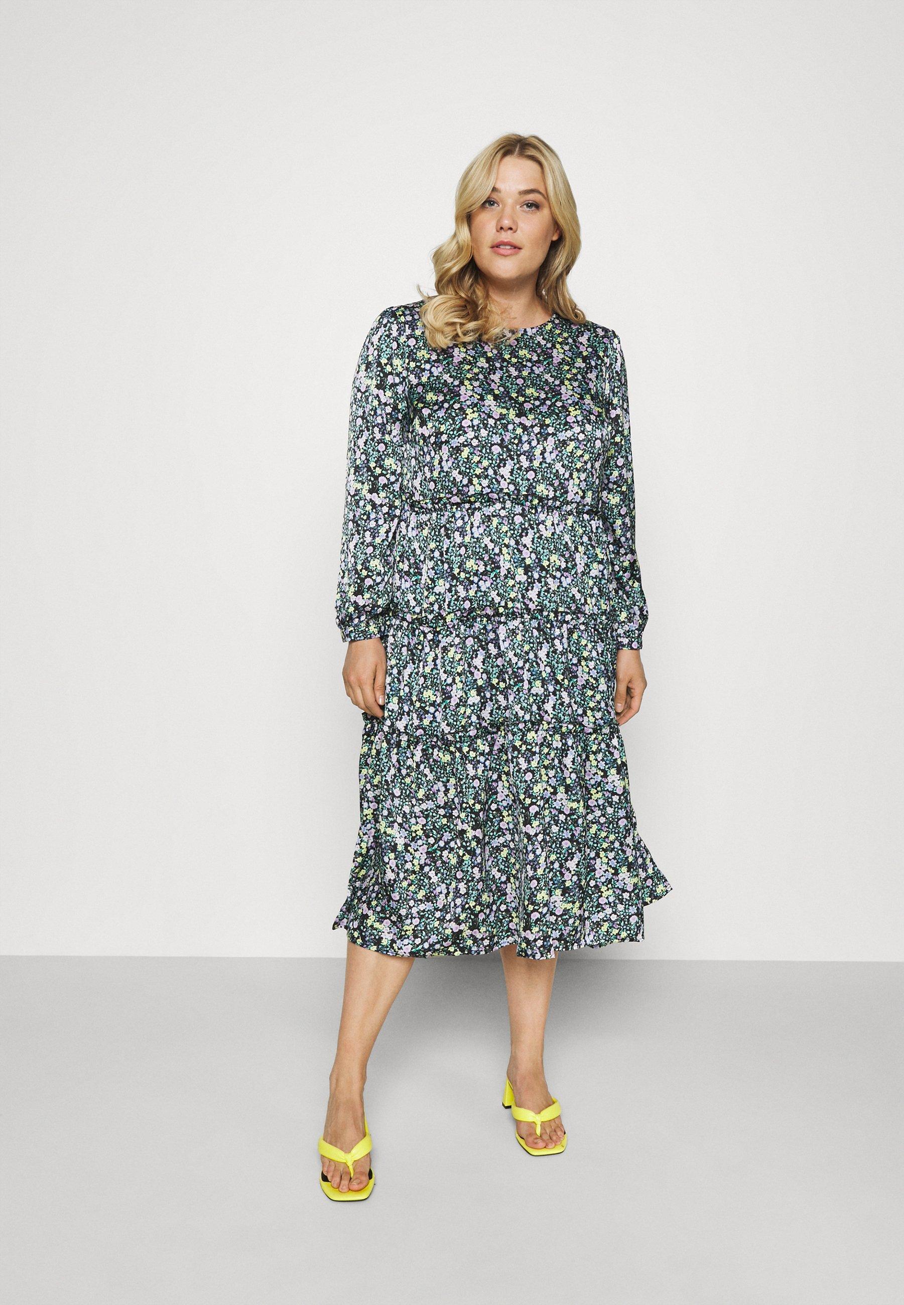 Women TIERED DRESS - Day dress