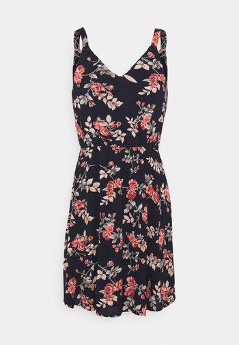 ONLKARMEN DRESS - Denní šaty - night sky/rose