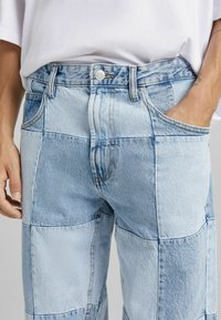 Bershka - 90'S HACK - Jeans relaxed fit - blue denim - 3