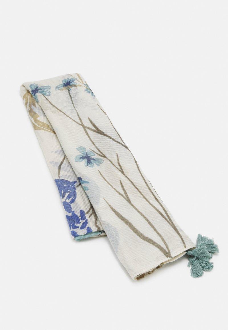 PARFOIS - PRINTED SCARF PANEL - Halsduk - light blue