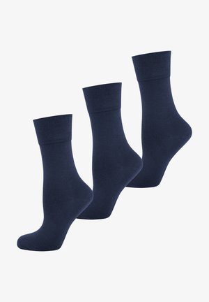 3 PACK  - Strumpor - blue