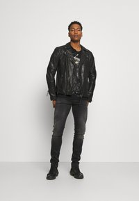 Tigha - ARNO - Leather jacket - black - 1