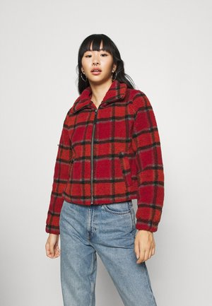 NMNICHELA JACKET - Winterjacke - red