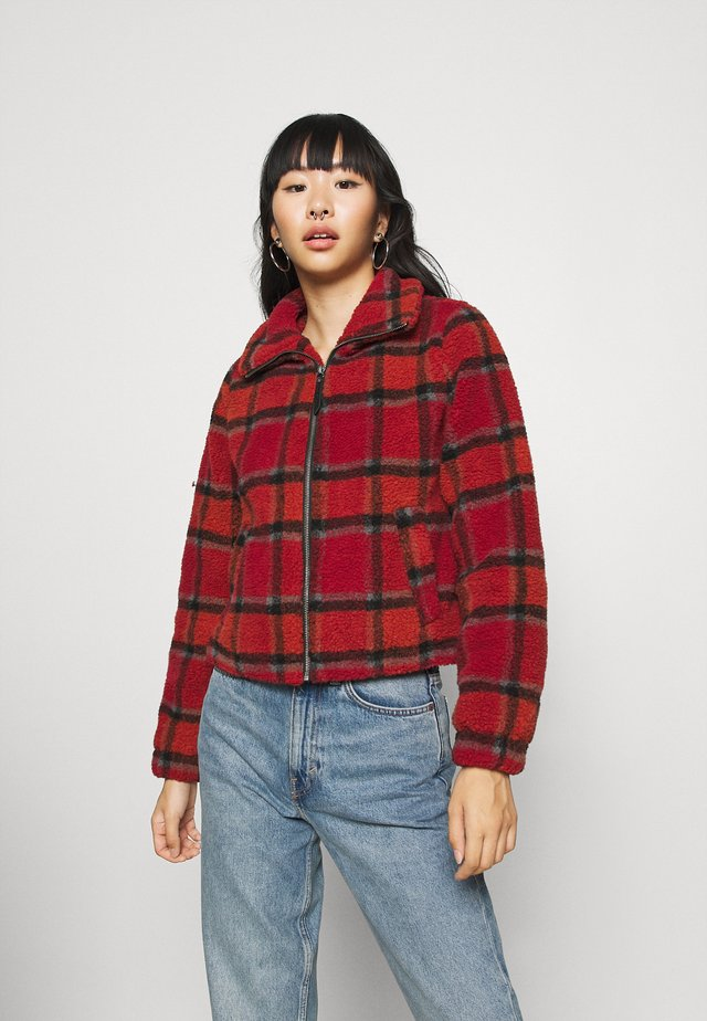 NMNICHELA JACKET - Winter jacket - red