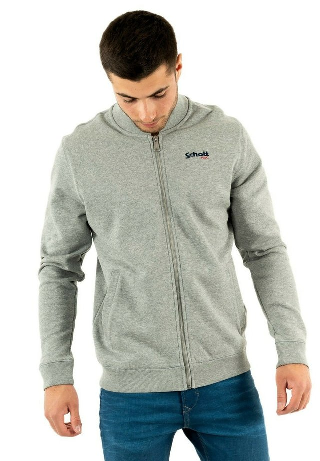 veste en sweat zippée - gris