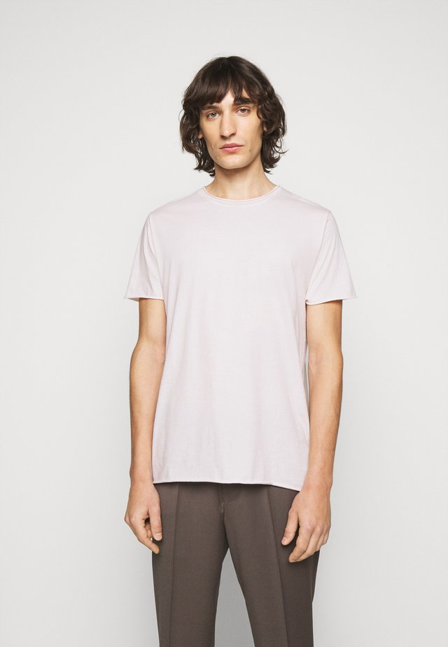 T-shirt basic - faded pink