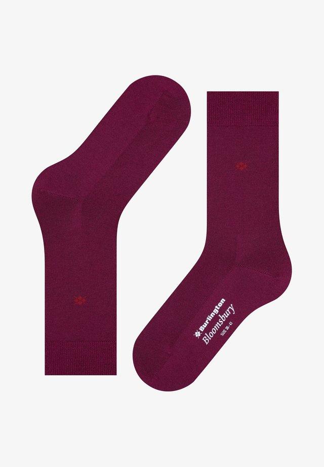 BLOOMSBURY  - Socks - merlot