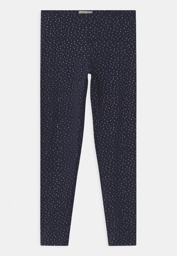 Leggings - Trousers - black iris