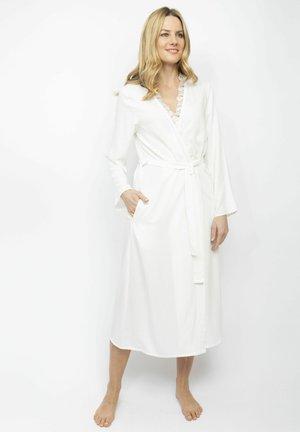 Dressing gown - cream