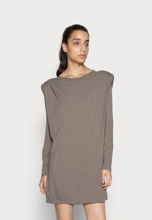 SANDRA DRESS - Žerzejové šaty - khaki