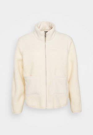 PCSADIE - Fleece jacket - whitecap gray