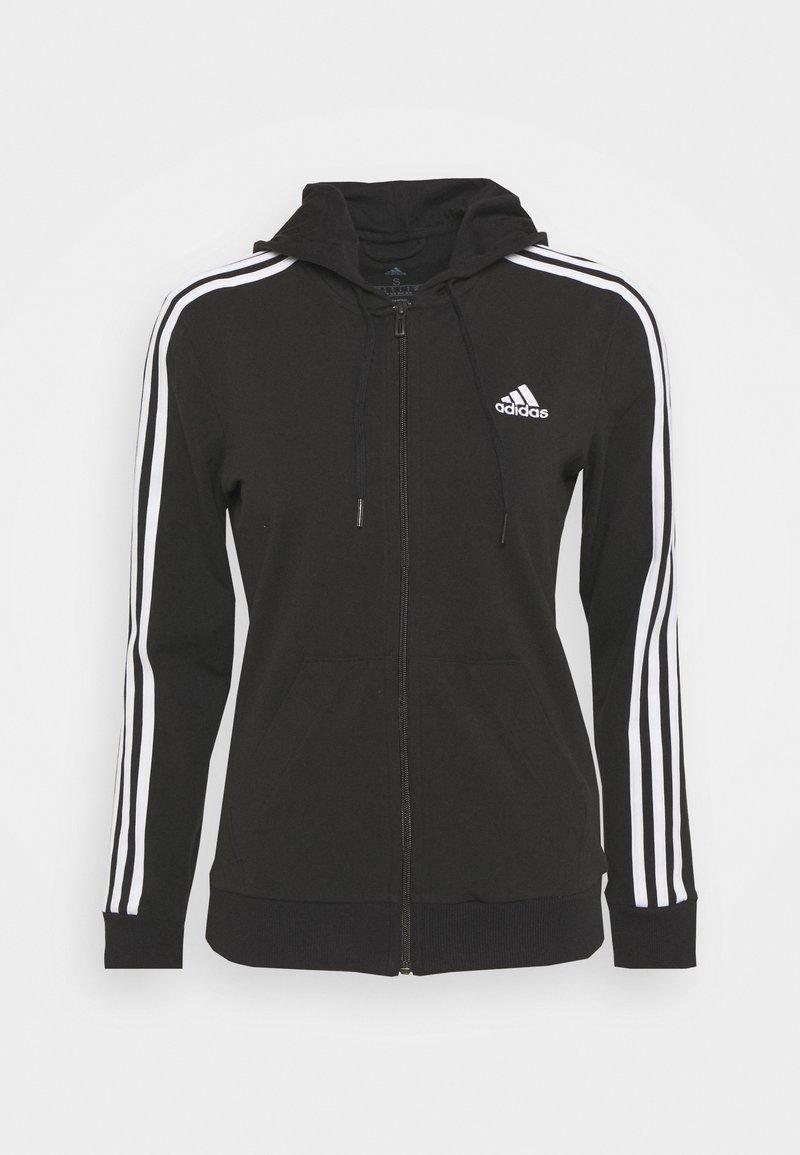 adidas Performance - Sweatjakke - black/white