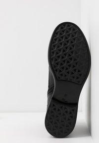 MJUS - Šněrovací kotníkové boty - nero - 6