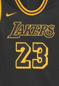 Nike Performance - NBA LA LAKERS LEBRON JAMES BLACK MAMBA UNISEX - Club wear - black - 2