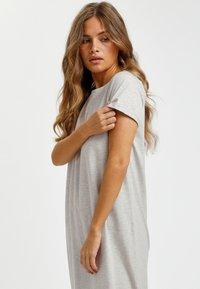 Kaffe - KACELINA - Maxi dress - light grey melange - 1