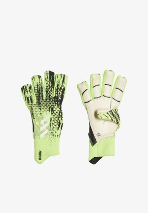PREDATOR 20 PRO HYBRID GOALKEEPER GLOVES - Goalkeeping gloves - black