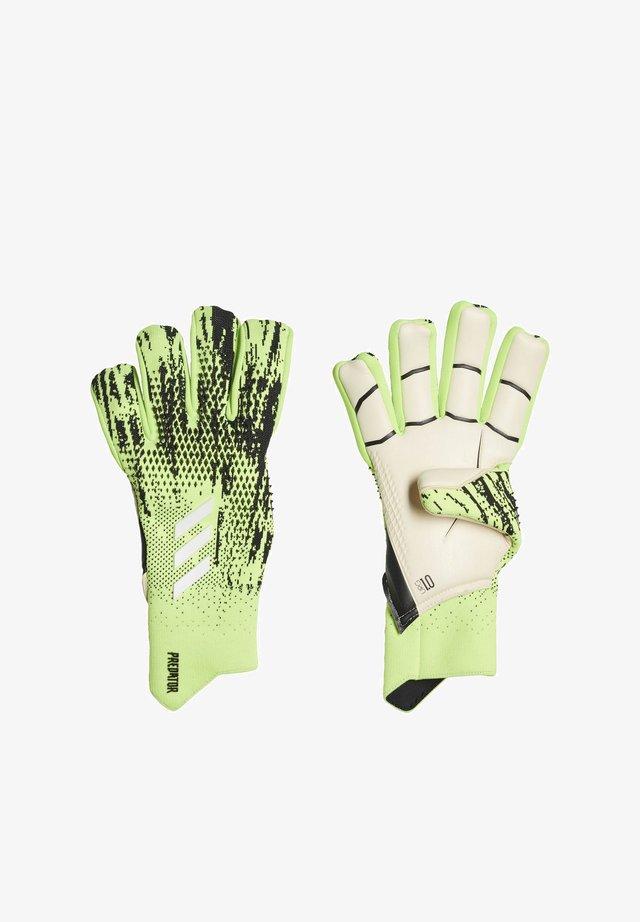 PREDATOR 20 PRO HYBRID GOALKEEPER GLOVES - Goalkeeping gloves - black