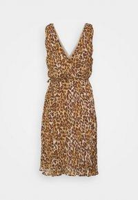 VILA PETITE - VIRENETA MIDI DRESS - Day dress - brown - 1