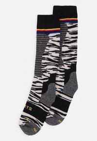 Barts - SKISOCK TECH UNISEX - Knee high socks - white - 0