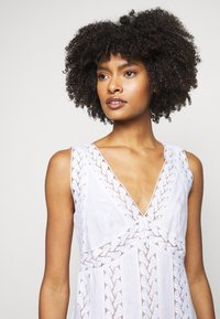 MICHAEL Michael Kors - STRIPED ROPE MINI DRESS - Day dress - white - 3