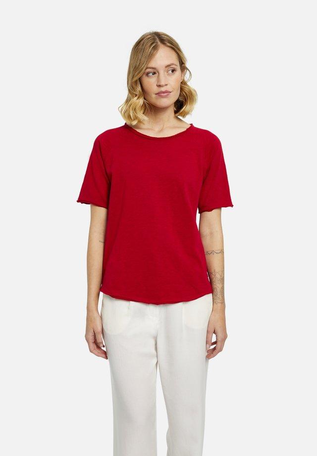 T-shirt basic - vino