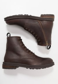 Walk London - WOLF LACE UP - Lace-up ankle boots - tan - 1