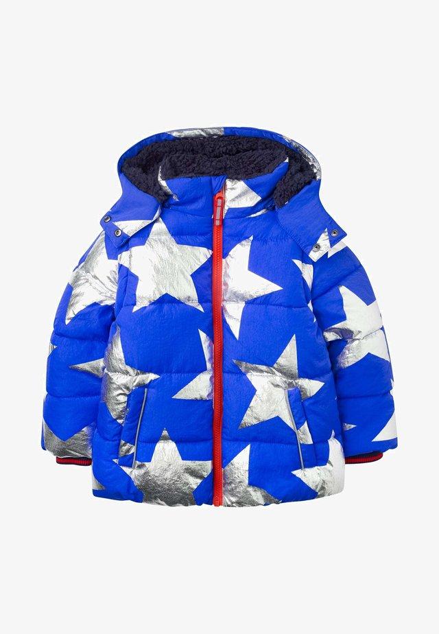 Winter coat - blitzblau, metallischer stern