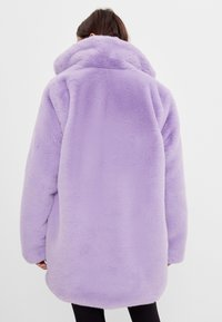 Bershka - Classic coat - mauve - 2