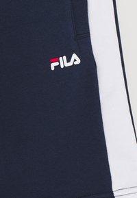 Fila - TOPAZ - Spodnie treningowe - black iris/bright white - 2