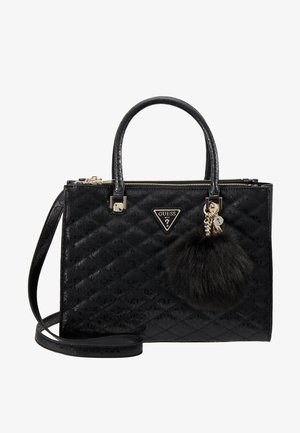 ASTRID LARGE STATUS SATCHEL - Handbag - black