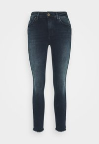 ONLY - ONLBLUSH LIFE MID RAW  - Jeans Skinny Fit - blue / black - 5
