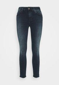 ONLBLUSH LIFE MID RAW  - Jeans Skinny Fit - blue / black