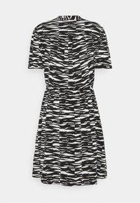 Calvin Klein - SHORT DRESS - Day dress - black/ecru - 1