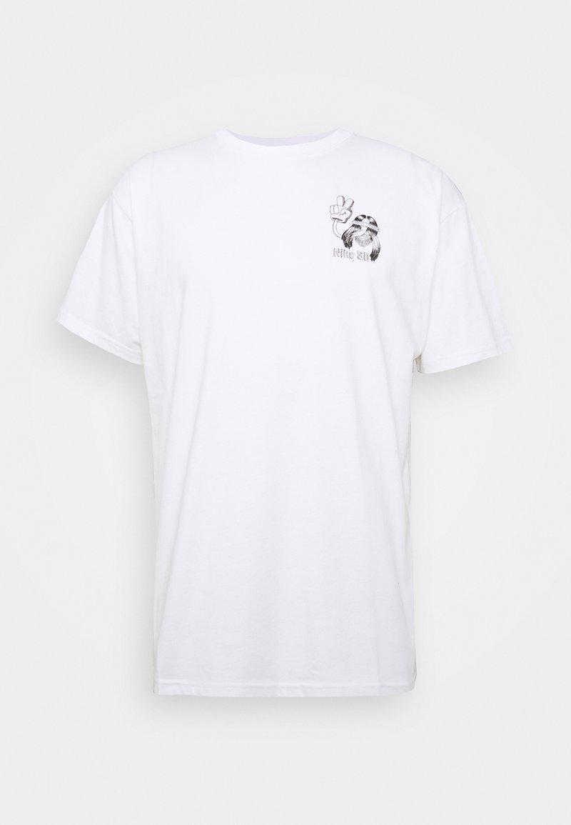Nike SB - TEE DUDER UNISEX - Print T-shirt - white