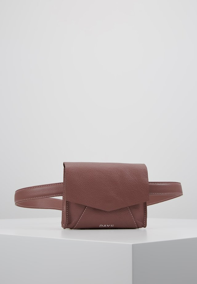 SHINE BELT BAG - Vyölaukku - rose taupe
