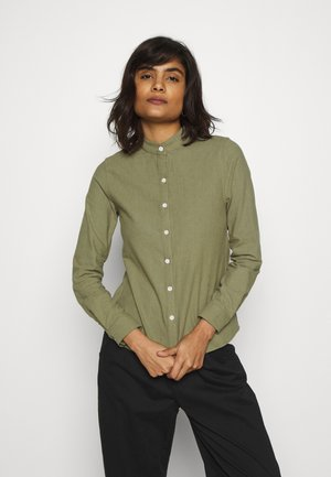 MANDARIN - Button-down blouse - khaki