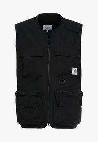 ELMWOOD VEST - Waistcoat - black