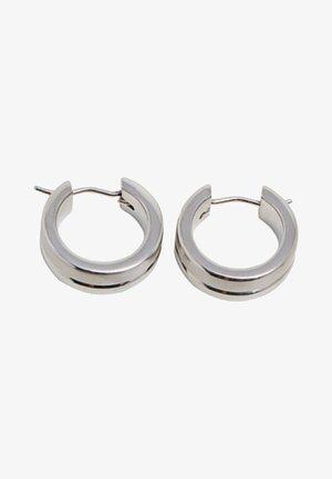 Oorbellen - silver-coloured