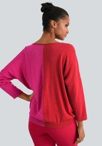 Alba Moda - Jumper - rot,pink - 2