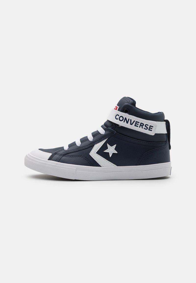 Converse - PRO BLAZE STRAP VARSITY UNISEX - Zapatillas altas - obsidian/white/university red
