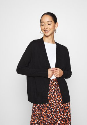 ONLSANDY CARDIGAN - Gilet - black