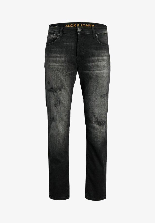 MIKE  - Jeans straight leg - black denim