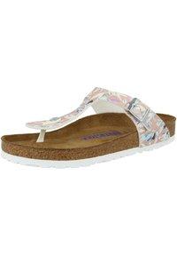 Birkenstock - GIZEH  - T-bar sandals - foral fades crystal rose - 2