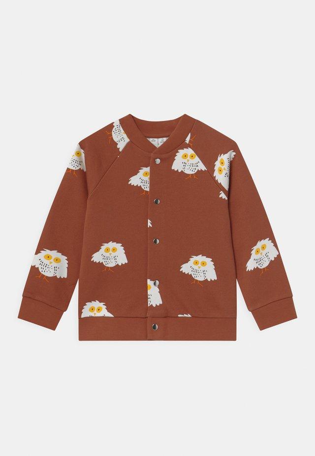 UNISEX - Zip-up hoodie - orange dark