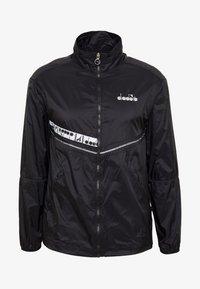 Diadora - LIGHTWEIGHT WIND JACKET BE ONE - Sports jacket - black - 3