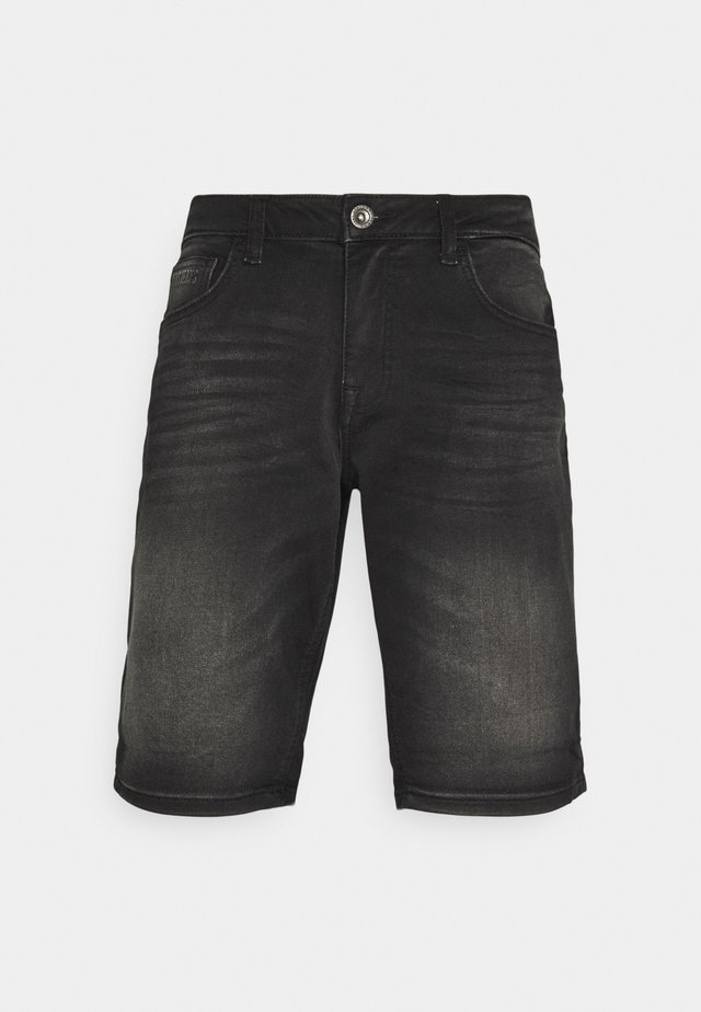SEATLE - Denim shorts - black used