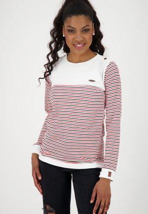 LEONIE - Long sleeved top - white