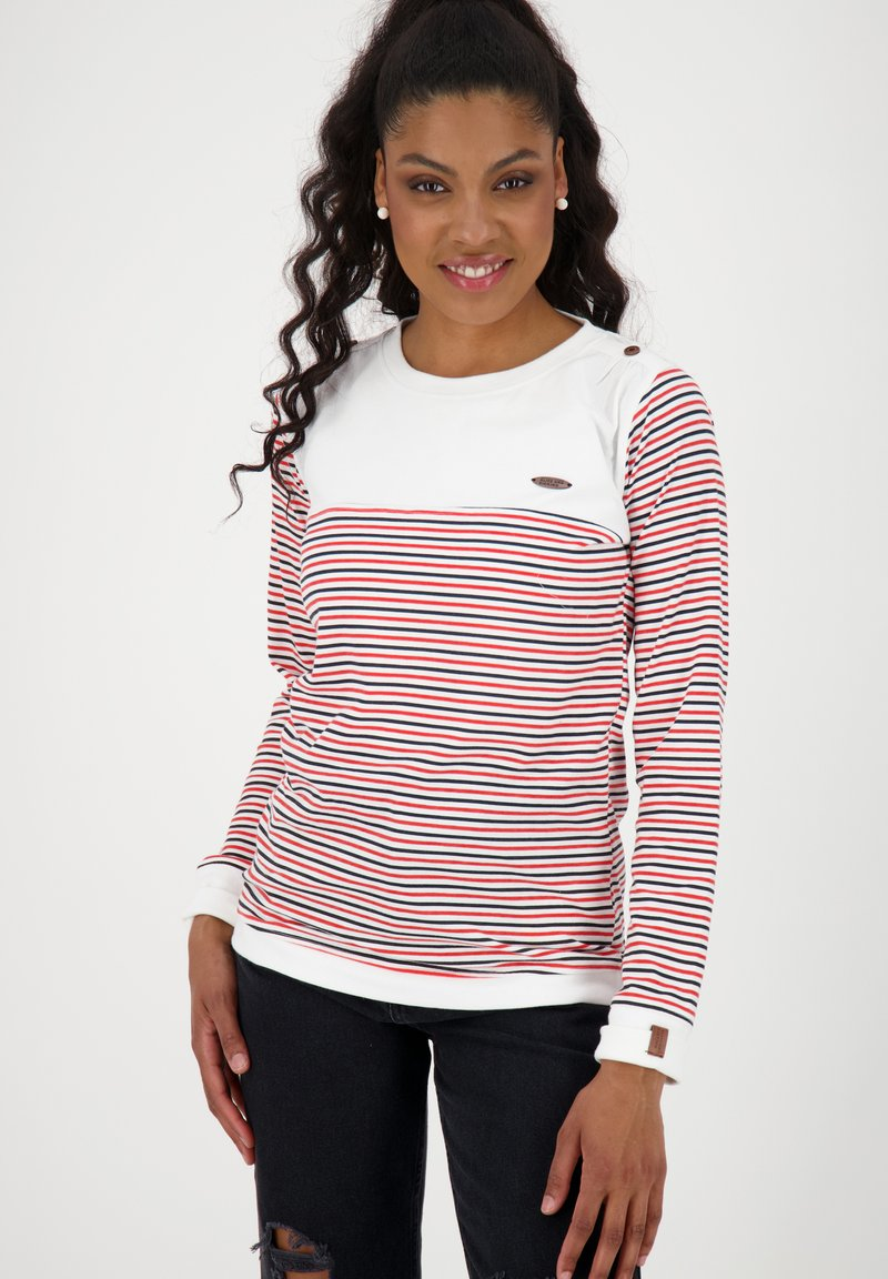 alife & kickin - LEONIE - Long sleeved top - white